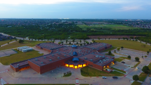 James L. Coble Middle School in Mansfield, TX
