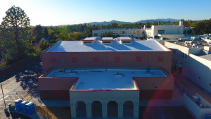 Marshall High School New Gym West View from 100 feet