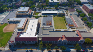 McKinley Elementary School Campus West View from 250 feet