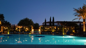 Ojai Valley Inn Pool at Night