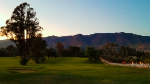 Ojai Valley Inn Golf Course Dusk