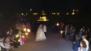 Lisa's Wedding Night Shot